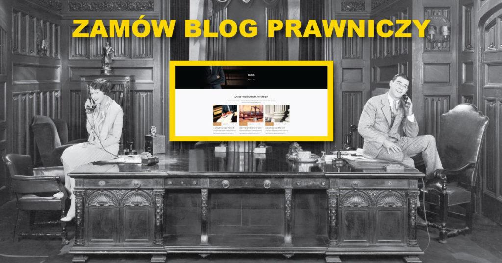 zamów bloga prawniczego - strony dla prawników